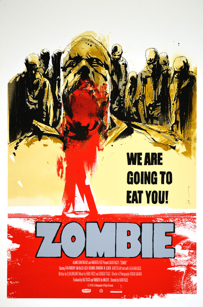 Zombie - Regular by Lucio Fulci (24 x 36 in)