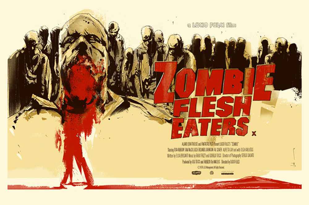 Zombie Flesh Eaters - Variant by Lucio Fulci